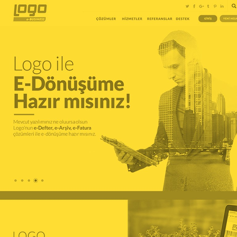 Logo E-Business Web Sitesi